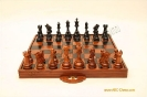 Wooden Chess Suitchase For 8 Inchi
